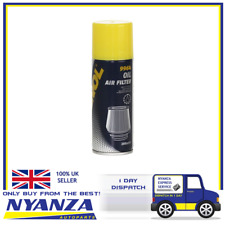 MANNOL AIR FILTER OIL FILTER 200ML SPECIALLY DEVELOPED FOR SPORT AIR FILTERS