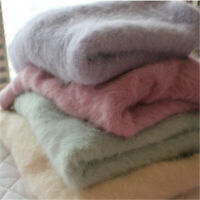 Spring Womens Fashion Angora Cashmere Warm Sweater Fluffy Fuzzy Plush Jumper Hot