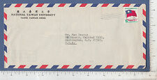 9832 National Taiwan University China envelope mailed to Senator Max Baucus