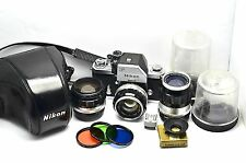 NEAR MINT VINTAGE NIKON PHOTOMIC FTN w/NIKKOR 1.4/50mm and more...