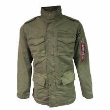 Mens Alpha Industries Huntington M-65 Style Field Jacket