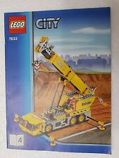 MANUALE ISTRUZIONI LEGO 7633 CITY GRU - ONLY MANUAL