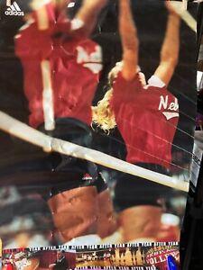Nebraska Cornhuskers VOLLEYBALL Poster - Coach Pettit