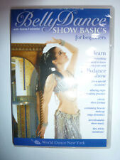 Belly Dance Show Basics for Beginners DVD dance how-to learning Tanna Valentine!