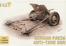HaT 1/72 German Pak 36 37mm at Gun With Crew