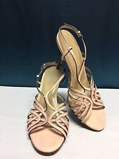 COLE HAAN BLUSH PINK SLING BACK SANDAL-NIKE AIR SOLE SZ 6B
