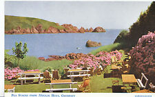 Channel Islands Postcard - Pea Stacks from Moulin Huet - Guernsey    5886