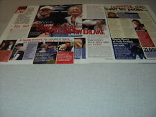 J185 JUSTIN TIMBERLAKE MANDY MOORE HOUCINE SERENA  '2003 FRENCH CLIPPING