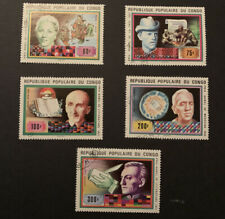 1978 Congo Nobel Prize Winners Stamps Used