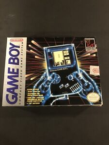nintendo gameboy original box And Styrofoam Nintendo Labels