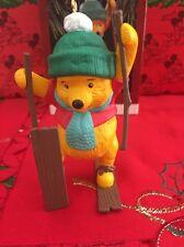 Noël Disney Hallmark Souvenir Winnie l'ourson ornement dans une boîte