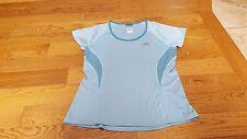 The North Face women's vapor wick blue lightweight shirt size S NWOT