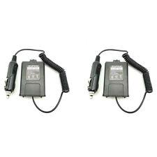 Eliminador de caso de Batería 2X UV-5RA UV-5RE Walkie Talkie Baofeng UV-5R Cargador de coche