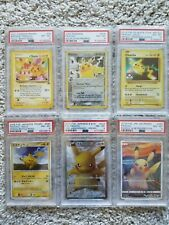 Pikachu Promo Psa Card Collection PSA 8 NM-MT English and Japanese