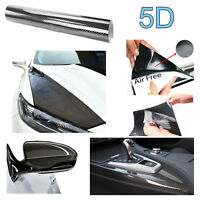 Vinilo de carbono 5D rollo de 150X30CM moldeable con calor para Bmw Audi Seat