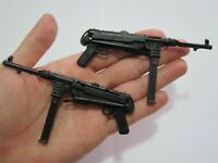 """1/6 Scale Set of 2 MP40 Submachine Gun For 12"""" Action Figure New"""
