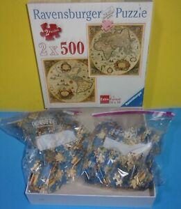 Ravensburger Historic World Map Extra 2 Format 500 Piece Jigsaw Puzzle