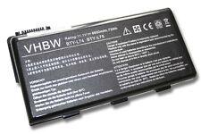 Batteria 6600mAh 11.1V per MSI CR610, CR620, CR630, CR700, CX500, CX600
