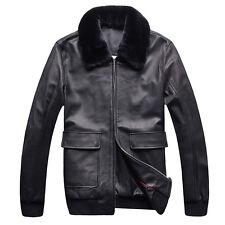 ZILLI Genuine Leather Men Super Thick British Outerwear, size XL, XXL, XXXL