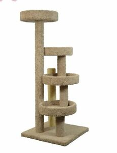 """STAIRWAY/LOUNGE 60"""" TALL CAT TREE - *FREE SHIPPING IN THE UNITED STATES_"""