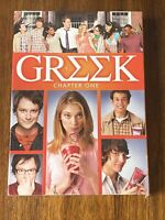 Greek: Season 1, Chapter One (DVD, 2008, 3-Disc Set) with Slipcover