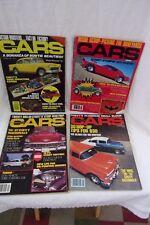 Lot of 4 Hi-Performance Cars Magazines 1978/1981 FREE SHIPPING