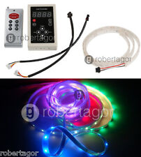 KIT STRISCIA STRIP 120 LED RGB PROGRAMMABILE IMPERMEABILE FLESSIBILE CONTROLLER