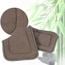 Washable Adult Cloth Diaper Insert Incontinence Pant Charcoal Pad 5 Layers LJ