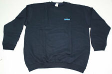 Genuine BMW Sweatshirt Sweater - Dark Blue with Logo Embroidered Size S - NEW