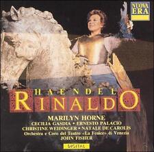 Handel: Rinaldo Marilyn Horne Fisher 2 CD Box Set 1989 Live Very Good