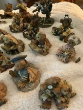 Boyds Bears & Friends Lot Figurines The Bearstone Collection 20 Figurines