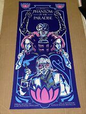 PHANTOM OF THE PARADISE Rare variant MONDO poster print (8/10) Tim Doyle 2008