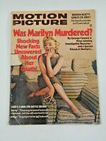 Vintage 1975 Motion Picture Magazine MARILYN MONROE Cover Story was she MURDERED