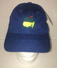 Rare Augusta National Slouch Lone Blue Golf Club Members American Needle Cap