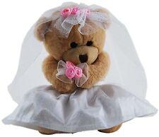 *NEW* CUTE WEDDING BEARS BRIDE AND GROOM TEDDY BEAR SOFT PLUSH TOYS 15CM