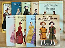 Mixed Assortment of Paper Dolls in Full Color Books (9) by Tom Tierney, Brenda S