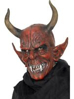 SALE! Evil Demon Devil Mask Halloween Horror Party Fancy Dress Costume Accessory