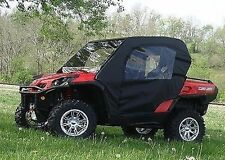 Can Am Commander Full Enclosure - HARD WINDSHIELD, Doors, Rear Window, and Roof