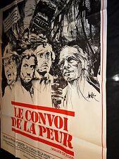 LE CONVOI DE LA PEUR  : SORCERER  william friedkin   affiche cinema 1977