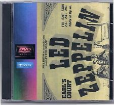 Led Zeppelin Concert Day 4 May 24, 1975 at Earls Court 2 DVD set Dolby Stereo