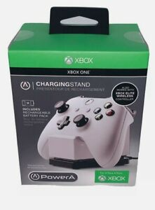 XBOX ONE PowerA White Charging Stand Includes Battery Pack BRAND NEW