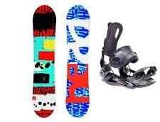 HEAD Rowdy JR 98 Snowboard Set SP Fastec Step In Bindung Kinder Anfänger Set