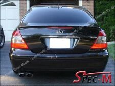 Painted 197 Obsidian Black E55 AMG Tail Spoiler Lip For W211 E240 E350 E430 E500