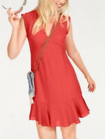 Pepe Jeans Katia [ Gr. S/L/XL ] Femmes Robe PL952120 Rouge Neuf & Emballage