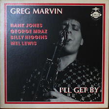 GREG MARVIN: I'll Get By-M1987LP HANK JONES/GEORGE MRAZ/MEL LEWIS