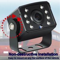 4 Pin 8 Led Caméra de Recul Vue De Face de Voiture Étanche Vision nocturne HD FR