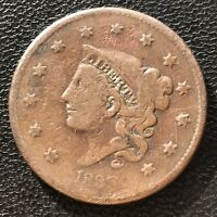 1835 Large Cent Coronet Head One Cent  1c  #6998