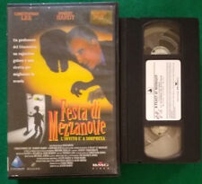 VHS FILM Ita Commedia FESTA DI MEZZANOTTE christopher lee ex nolo no dvd(V116)