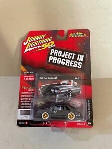 Johnny Lightning Project in Progress 1982 Ford Mustang GT White Lightning MT15