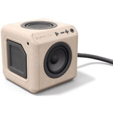 Allocacoc 360 AudioCube Portable Bluetooth Speaker in Beech Wood Finish